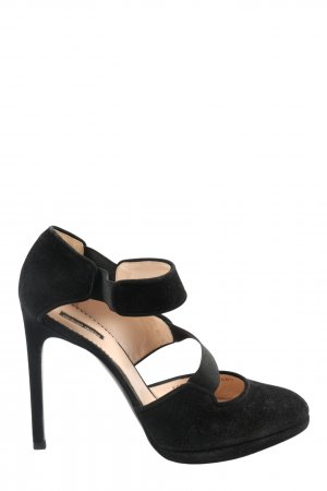 Giorgio  Armani High Heels schwarz Casual-Look