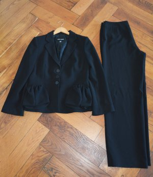 Giorgio  Armani Tailleur-pantalon noir polyester