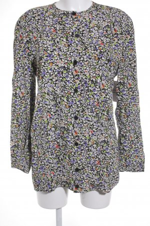 Giorgio  Armani Langarm-Bluse florales Muster Casual-Look