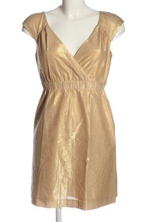 Giorgio  Armani Minikleid goldfarben Elegant