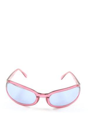Giorgio  Armani Gafas de sol ovaladas rojo look Street-Style