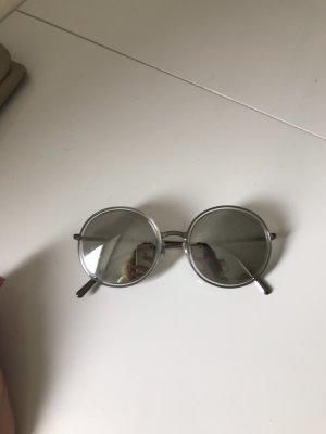 Giorgio  Armani Round Sunglasses silver-colored-grey