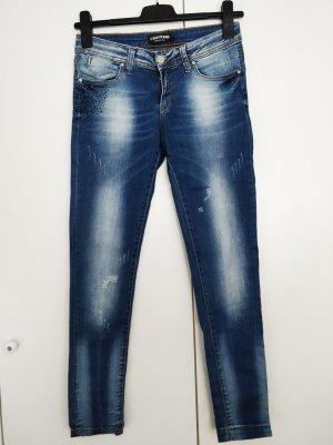 Giorgio Di Mare Jeans 38 W29 Hose Bluejeans Italy Italien