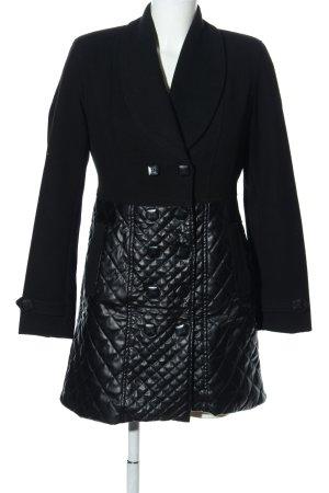Giorgio di Mare Vintage Short Coat black quilting pattern casual look