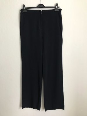 Giorgio Grati Pantalon taille basse bleu foncé-noir