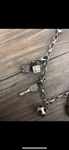 gianluca giordano Armbandje met bedels zilver