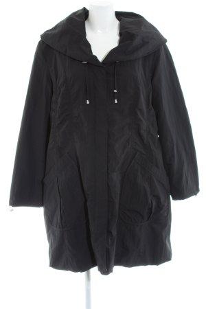 Regenjas zwart casual uitstraling