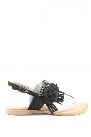 Gios Eppo Dianette Sandals black casual look