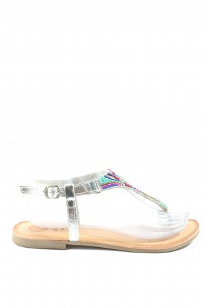 Gios Eppo Dianette Sandals silver-colored casual look