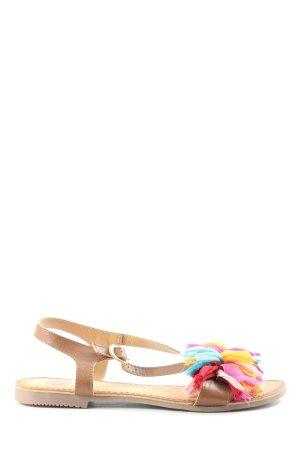 Gioseppo Komfort-Sandalen creme-nude Casual-Look