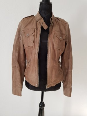 Gipsy Leather Jacket light brown
