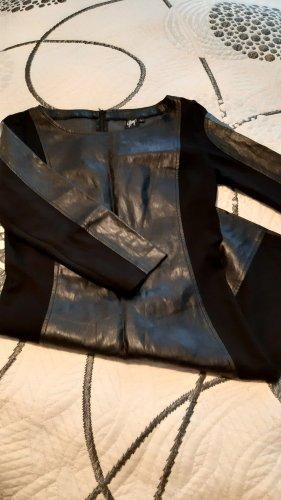 Gipsy Vestido de cuero negro