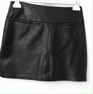 Gipsy Leather Skirt black leather