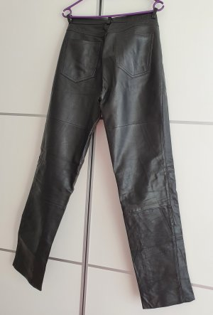 Gipsy Leather Trousers black leather
