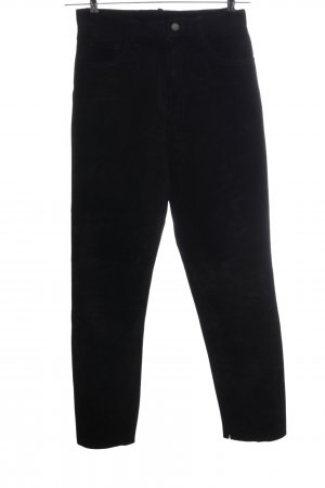Gipsy Leather Trousers black casual look
