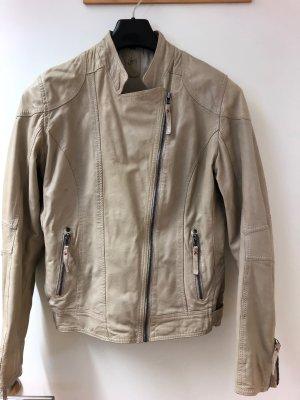 Gipsy Lederjacke beige, Größe L , sehr guter Zustand