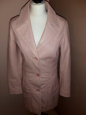 GIPSY Ledermantel Gr. S 70er-Style rosa