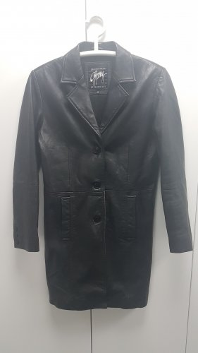 Gipsy Leather Coat black