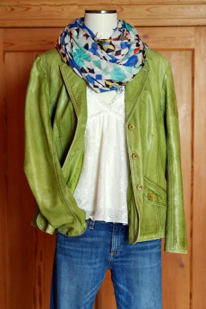 Gipsy Leather Jacket multicolored leather