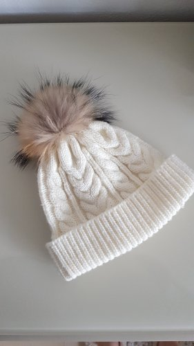 Gipsy Knitted Hat natural white