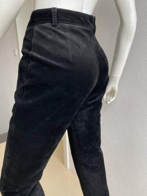 Gipsy Leather Trousers black suede