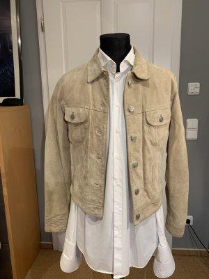 Gipsy jacke in camel/beige im Jeansjackenstil