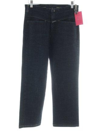 Girbaud 7/8 Jeans blau meliert Casual-Look