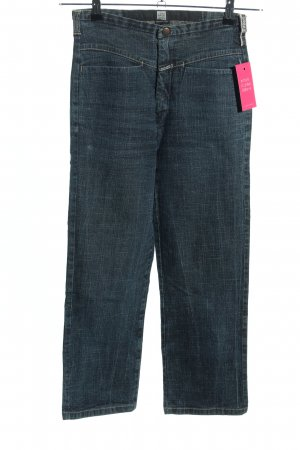 Girbaud High Waist Jeans blau meliert Casual-Look