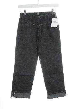 Girbaud Straight-Leg Jeans dunkelblau Casual-Look