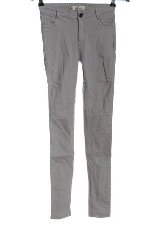 Girl Vivi Jeans stretch gris clair style décontracté
