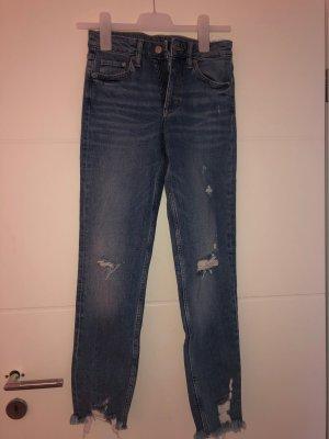 & DENIM Jeans a gamba dritta blu