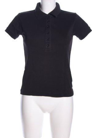Girls Golf Polo-Shirt schwarz Casual-Look