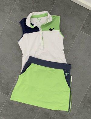 Girls Golf Set Golfset Top Shirt Tanktop Rock Golfrock mit integrierter Shorts