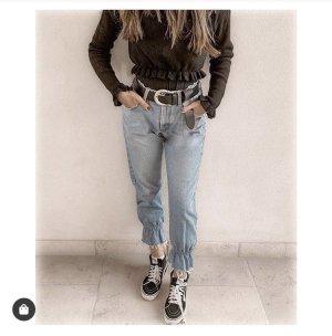 High Waist Jeans light blue