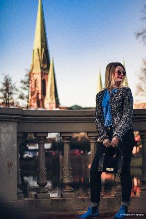 New Yorker Blazer en tweed multicolore