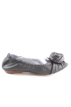 Giudecca faltbare Ballerinas schwarz Casual-Look
