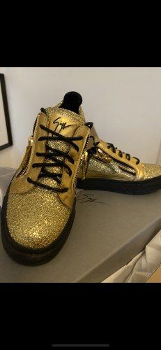Giuseppe Zanotti Sneaker stringata oro-nero
