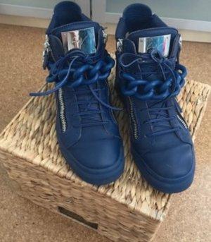 Giuseppe Zanotti Sneaker alta blu