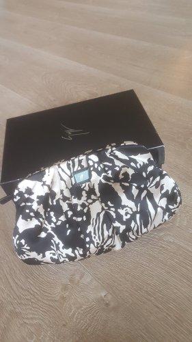 GIUSEPPE ZANOTTI clutch bag handtasche zebra NEU