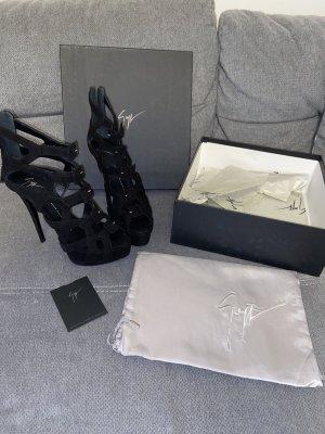 Giuseppe Zanotti Design Sandaletten High Heels Heeled Sandals Schwarz Gr. 39