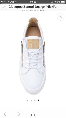 Giuseppe Zanotti Sneaker con strappi bianco