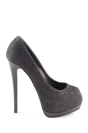 Giuseppe Zanotti High Heels schwarz Elegant