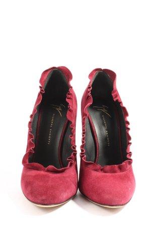 Giuseppe Zanotti High Heels rot Casual-Look