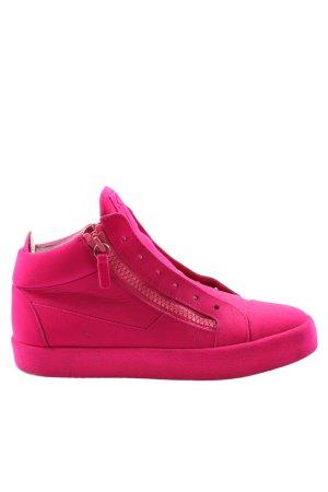 Giuseppe Zanotti Zapatillas altas rosa look casual