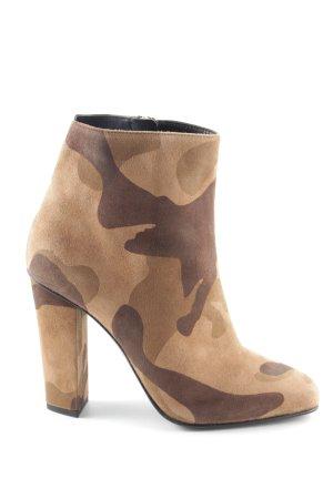 Giuseppe Zanotti Reißverschluss-Stiefeletten Camouflagemuster