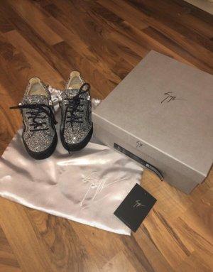 Giuseppe Zanotti Sneaker slip-on nero-grigio