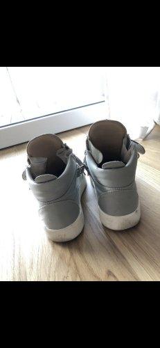 Giuseppe Zanotti Klittenband Sportschoenen babyblauw