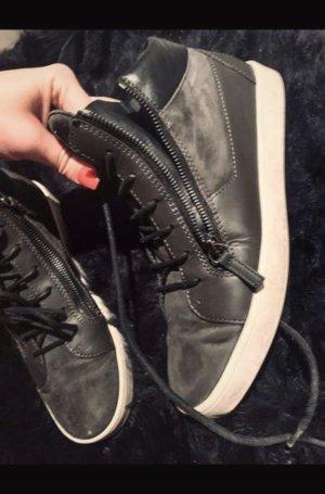 Giuseppe Zanotti High Top Sneaker anthracite-dark grey