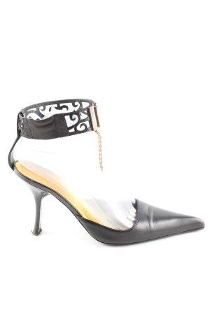 Giuseppe Zanotti Spitz-Pumps schwarz grafisches Muster Casual-Look