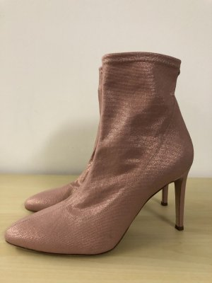 Giuseppe Zanotti Stiefeletten 41 neu rosa High Heels Pumps